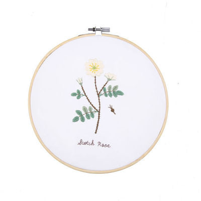 Scotland Rose Embroidery Kit