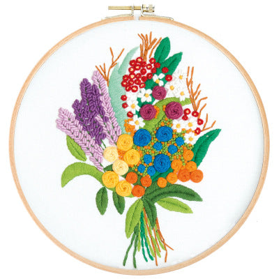 Sweetie Bouquet Embroidery Kit