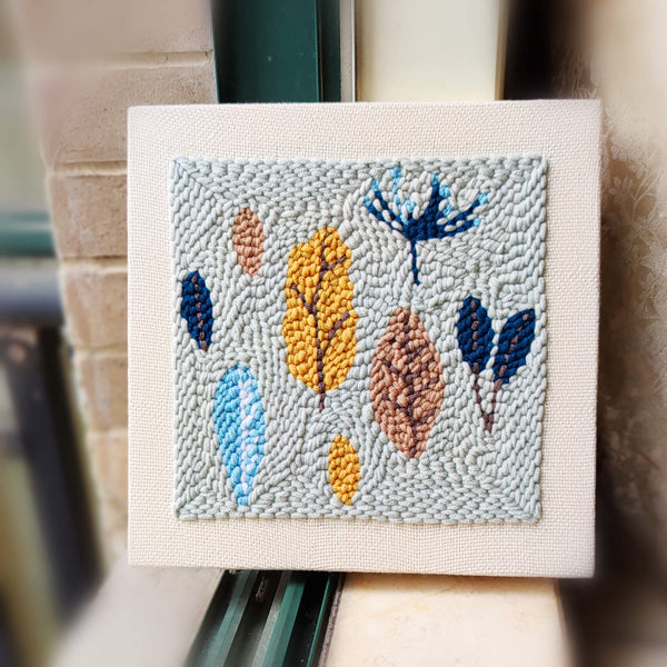 Autumn Leaves Punch Needle Kit