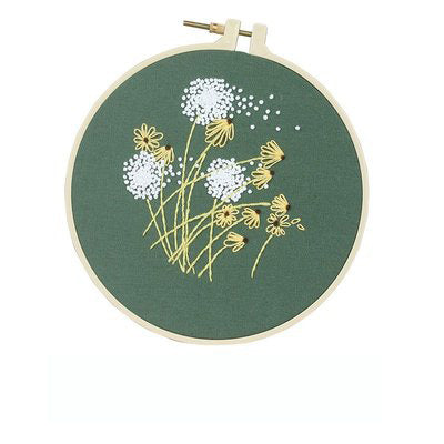 Dandelion Embroidery Kit