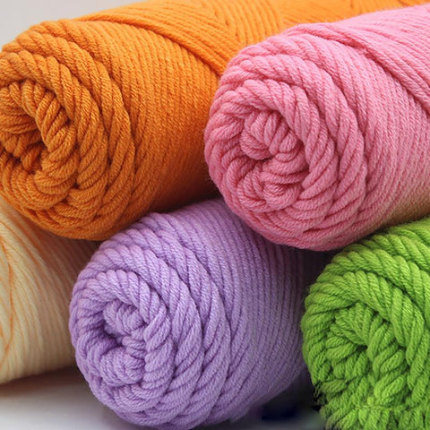 100g Punch Needle Cotton Yarn 72 Colors