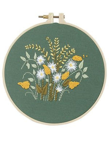 Daisy Embroidery Kit