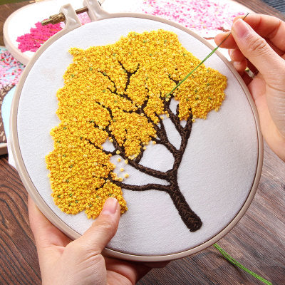 Osmanthus Blossom Embroidery Kit