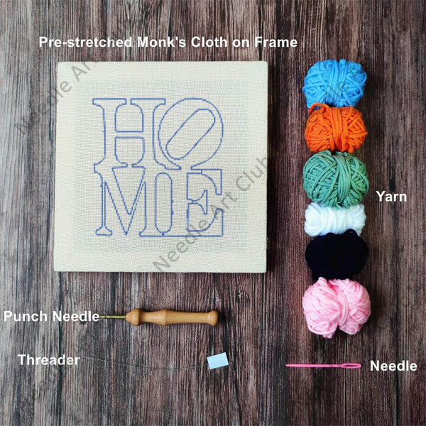 HOME Punch Needle Kit