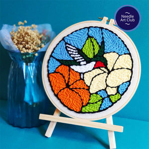 Hummingbird Punch Needle Kit
