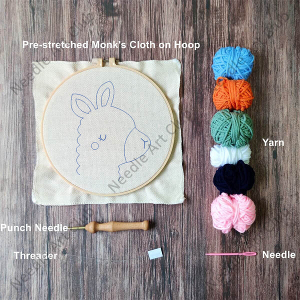 Llama Punch Needle Kit