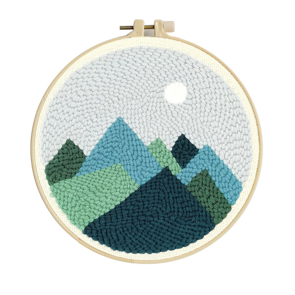 Moonlight Punch Needle Kit