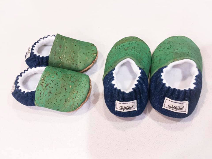 soft soul baby slippers