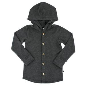 Little & Lively - Hooded Button-Up
