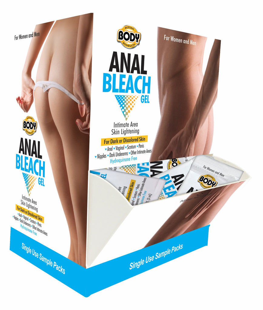 Body Action Anal Bleach 50pc Display - iVenuss