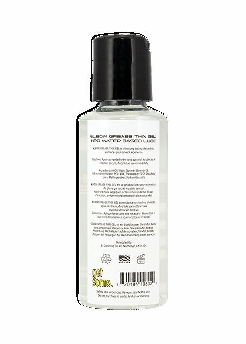 Elbow Grease H2o Thin Gel 2.4 Oz - iVenuss