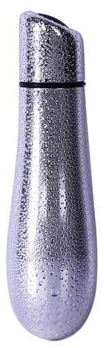 Rain Power Bullet 3in Textured Silver - iVenuss