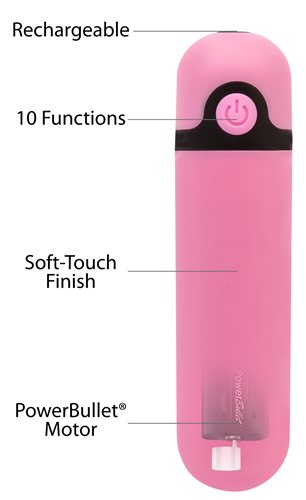 Simple & True Rechargeable Bullet Pink - iVenuss