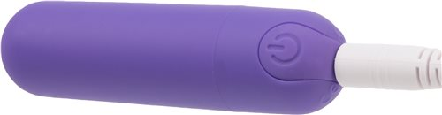 Power Bullet Essential 3.5in Rechargeable Purple - iVenuss