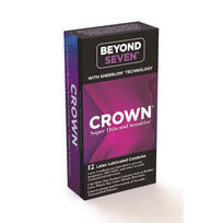 Crown 12pk Super Thin And Sensitive - iVenuss