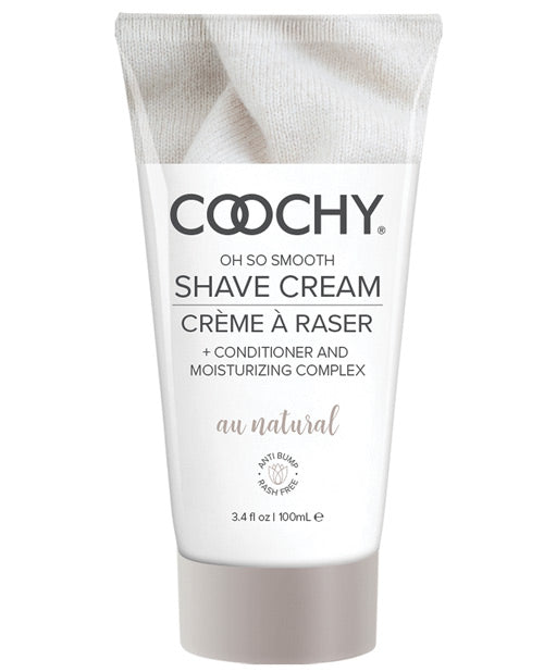 Coochy Shave Cream Au Natural 3.4 Oz - iVenuss