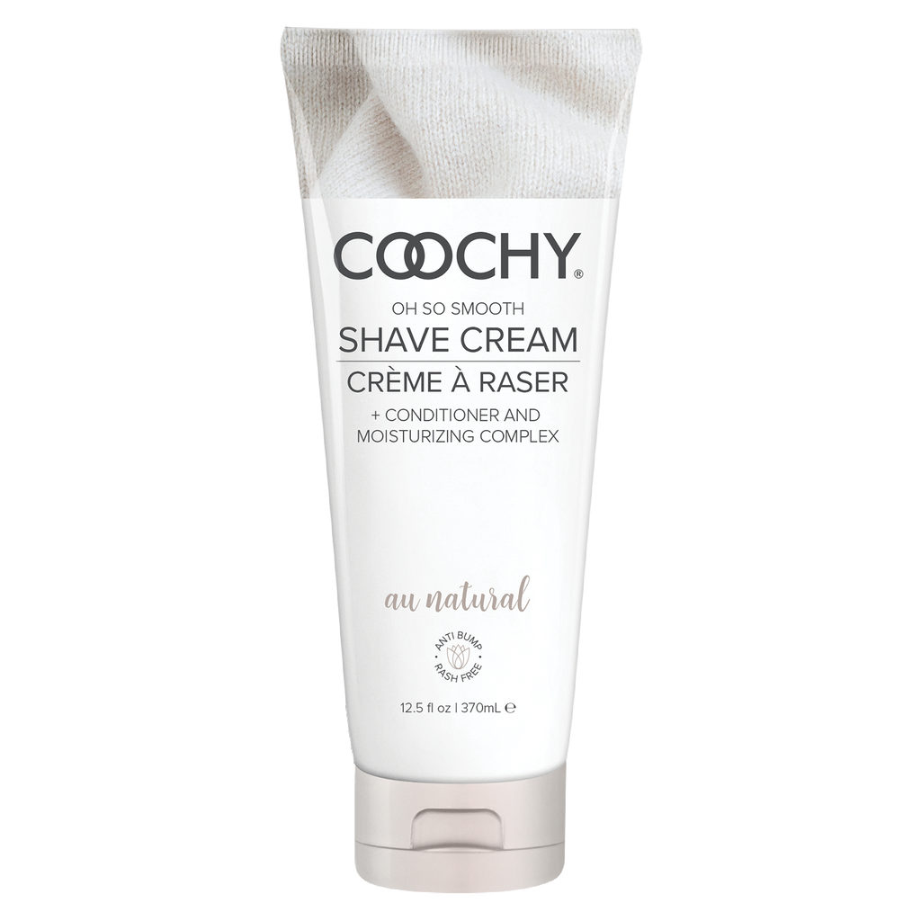 Coochy Shave Cream Au Natural 12.5 Oz - iVenuss