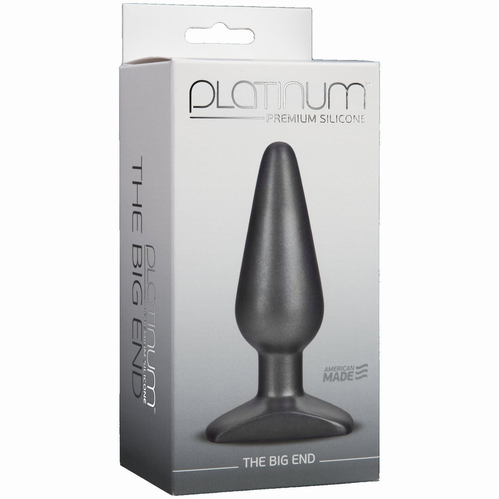 Platinum Silicone Charcoal Big End - iVenuss