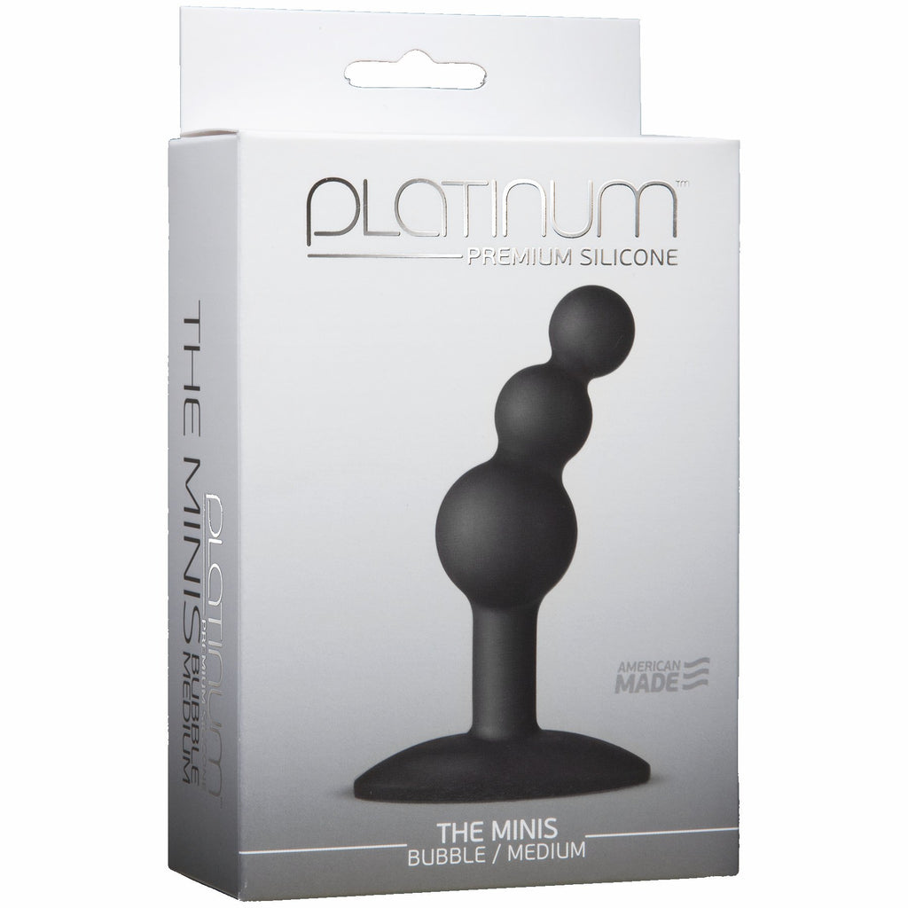 Platinum Minis Bubble Medium Black - iVenuss
