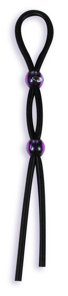 Silicone Cock Ties Black - iVenuss