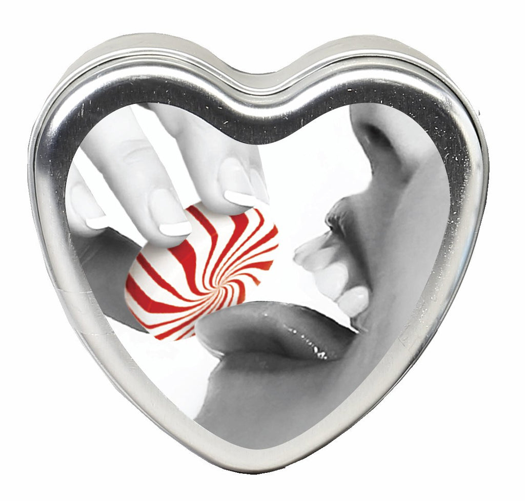 Candle 3-in-1 Heart Edible Mintastic 4.7 Oz - iVenuss