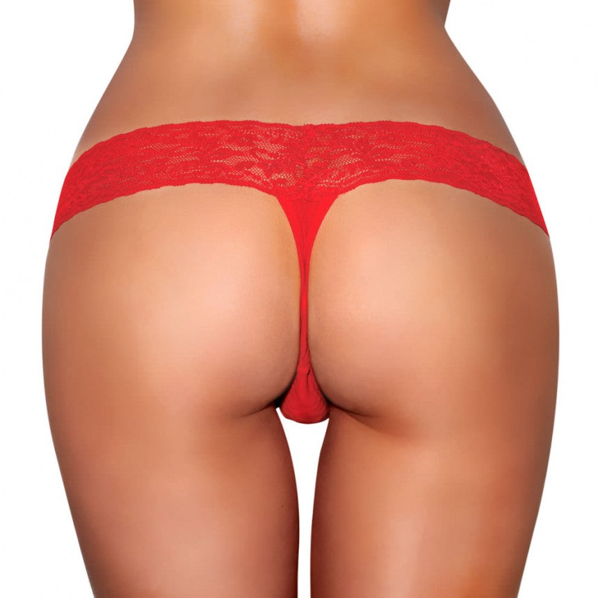 Vibrating Panties W-vibe Pocket Red Ml - iVenuss