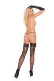 Sheer Back Seam Thigh Hi - iVenuss