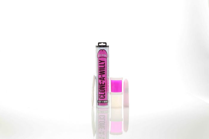 Clone A Willy Hot Pink Glow In The Dark - iVenuss