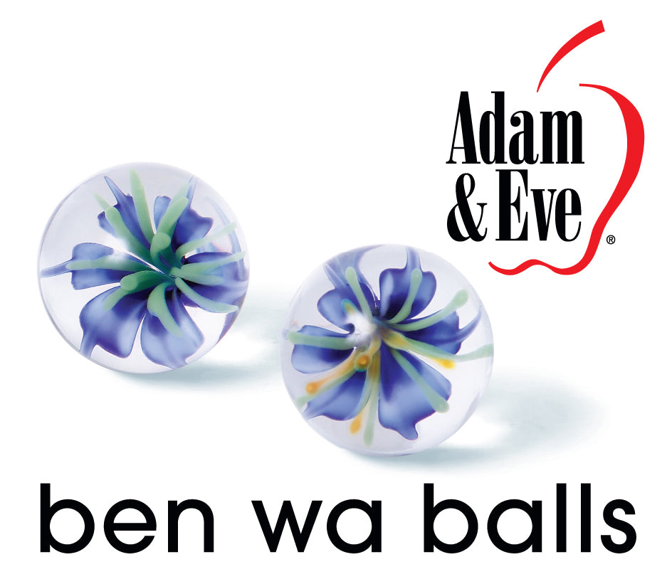 Adam & Eve Glass Ben Wa Balls - iVenuss