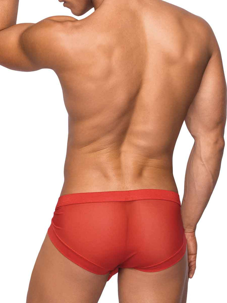 Micro Mini Hose Short Small Red - iVenuss