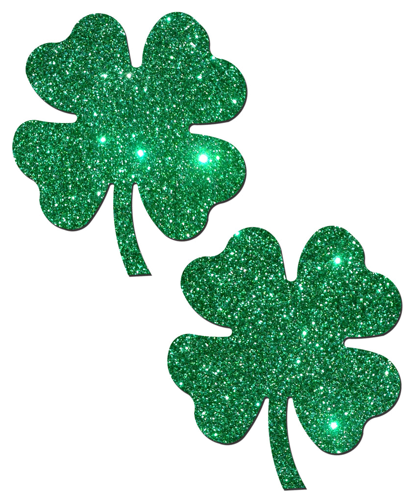Pastease Four Leaf Clover: Glittering Green Shamrocks - iVenuss