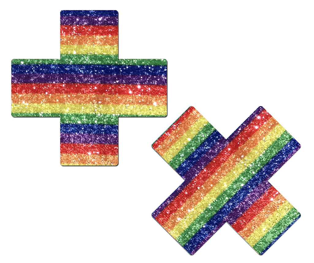 Pastease Glittering Rainbow Cross - iVenuss