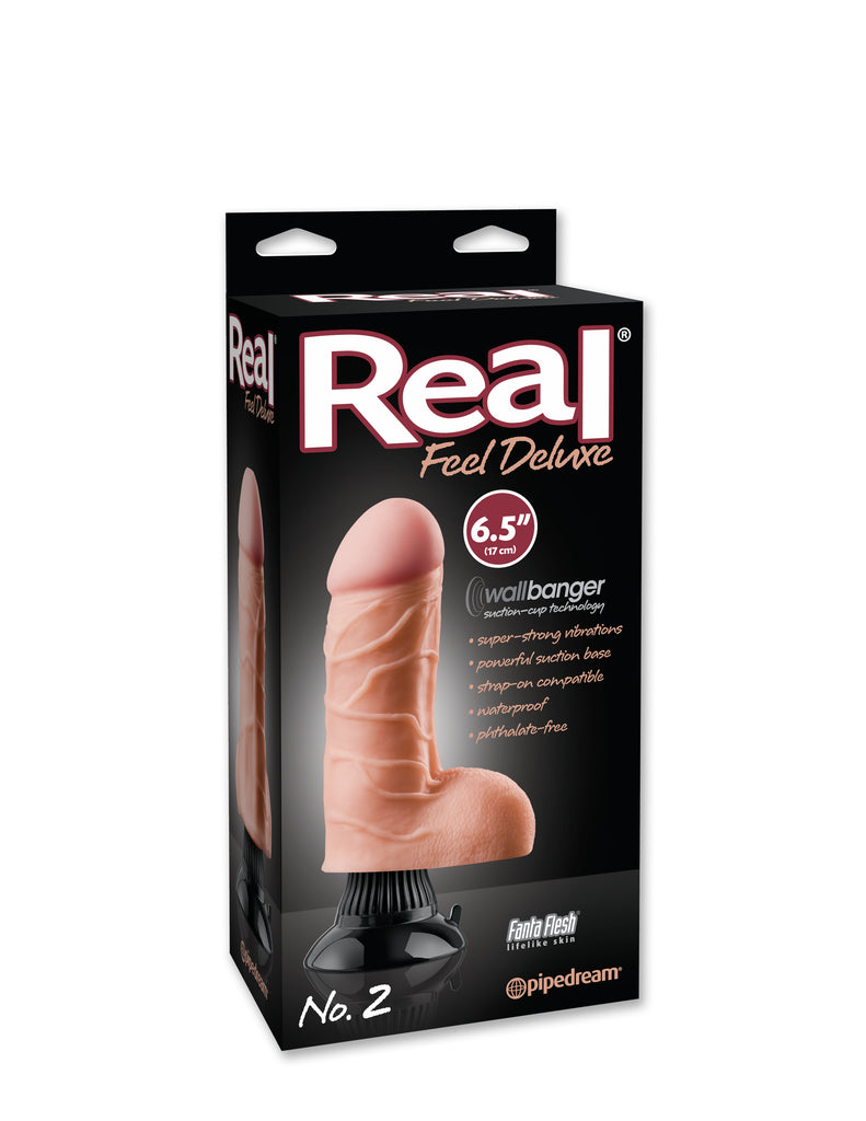 Real Feel Deluxe #2 Flesh 6.5in - iVenuss