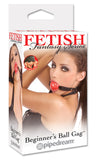 Fetish Fantasy Beginner Ball Gag Red - iVenuss