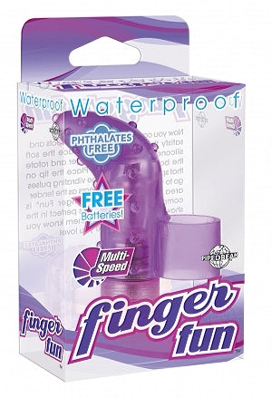 Waterproof Finger Fun Purple - iVenuss