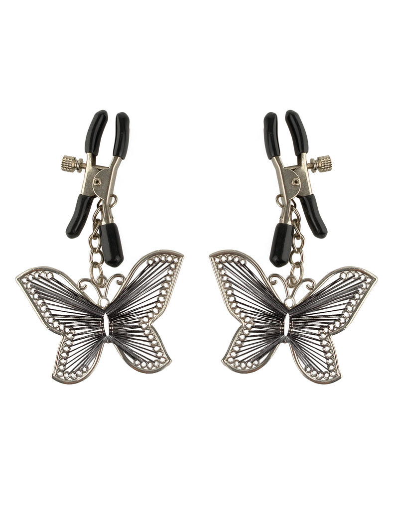 Fetish Fantasy Butterfly Nipple Clamps - iVenuss