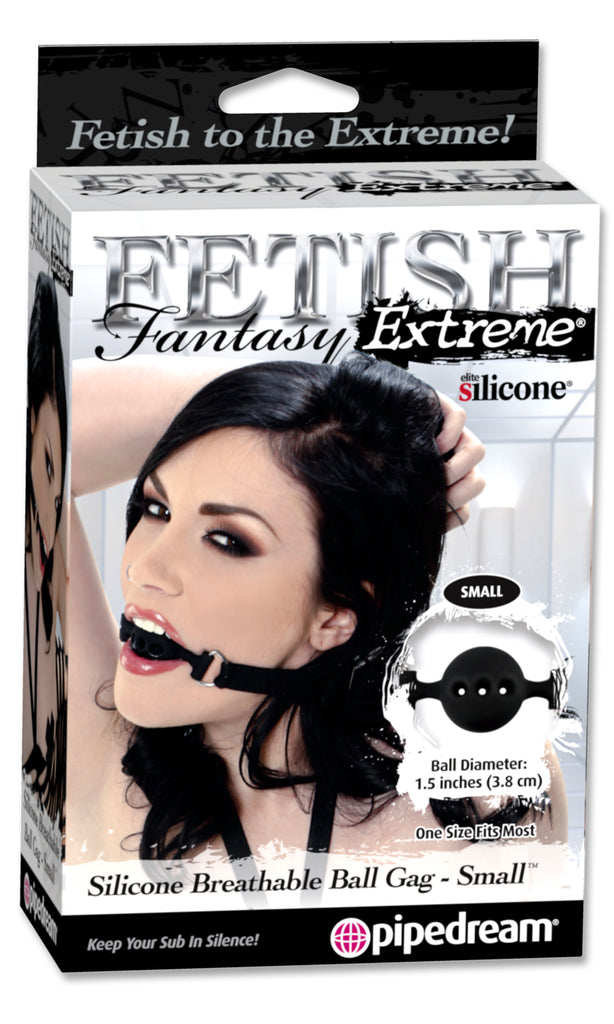 Fetish Fantasy Extreme Breathable Ball Gag Small - iVenuss
