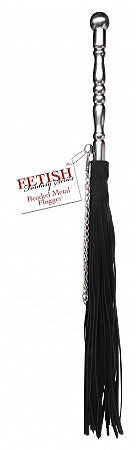 Fetish Fantasy Beaded Metal Flogger - iVenuss