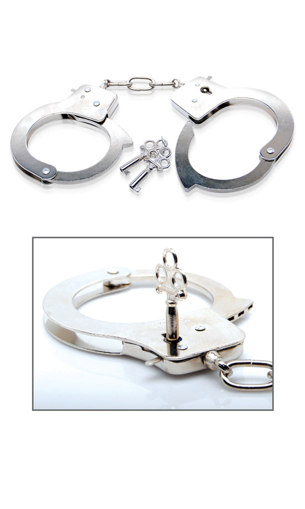 Fetish Fantasy Limited Edition Metal Handcuffs - iVenuss