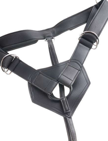 "King Cock Strap On Harness W- 9 Cock Tan "" - iVenuss"