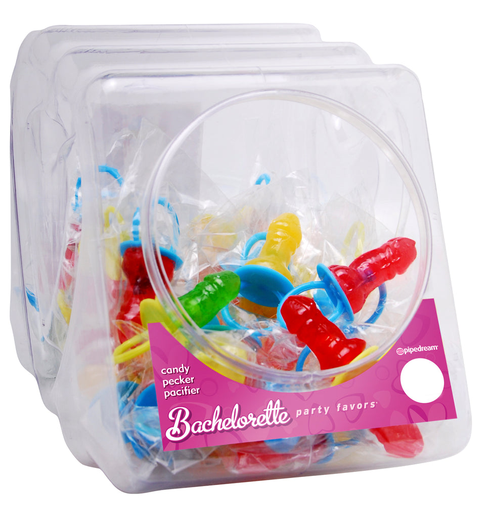 Bachelorette Candy Pecker Pacifier (48 Per Display) - iVenuss
