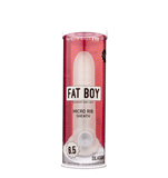 Perfect Fit Fat Boy Micro Ribbed Sheath 6.5in Clear - iVenuss