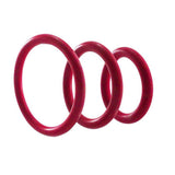 Ring Nitrile 3pc Set Red - iVenuss