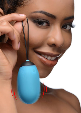 Bang! Xl Vibrating Egg Blue