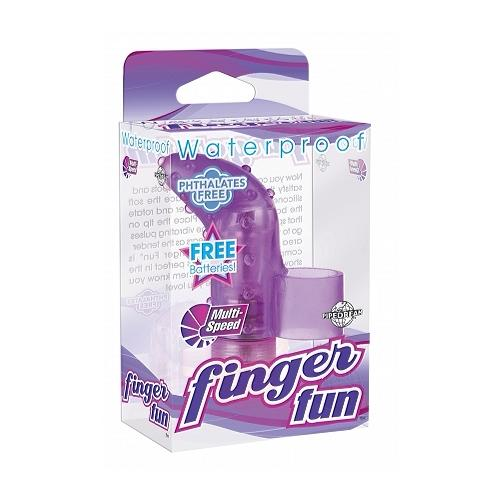 Waterproof Finger Fun Purple