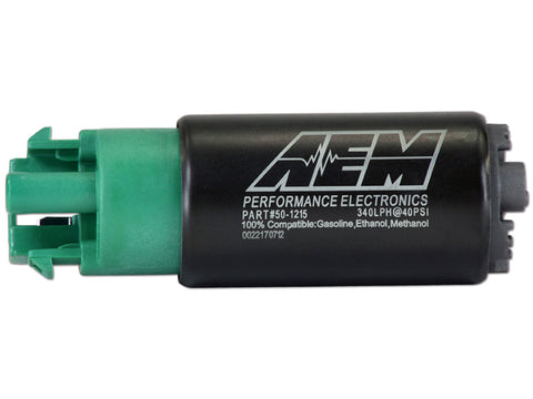 AEM 340LPH FUEL PUMP KIT FOR R35 GTR (2 PUMPS)
