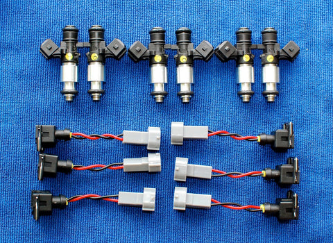1200cc Fuel Injectors R35