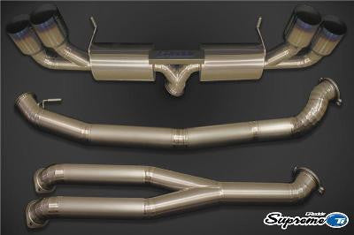Greddy 10128294 Racing Titanium Cat-Back Exhaust System