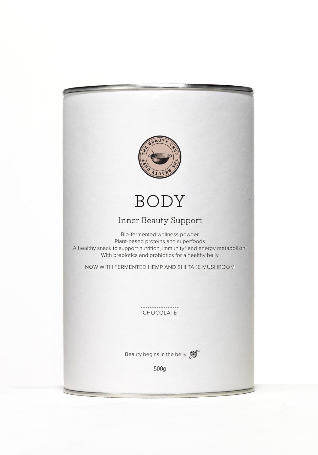 THE BEAUTY CHEF- Body chocolate flavour
