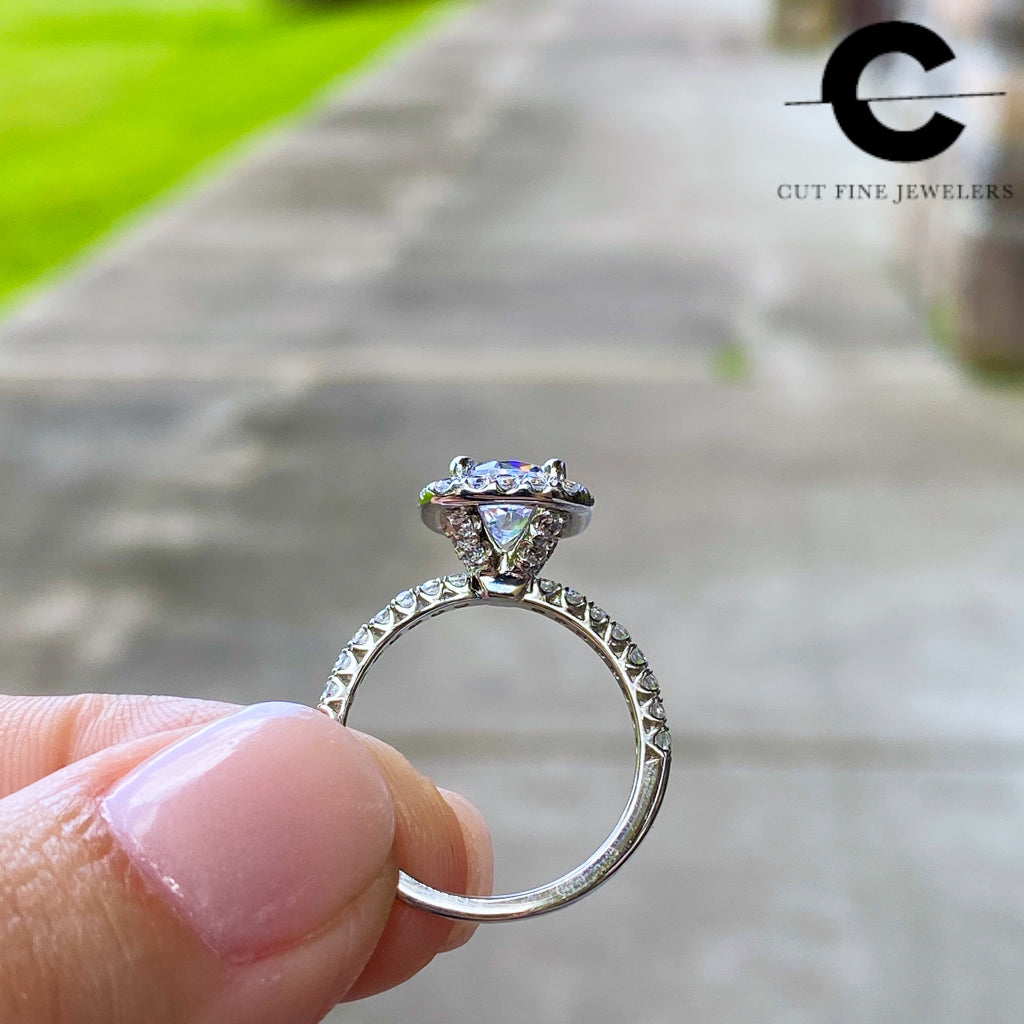Custom Engagement Rings In Baton Rouge Louisiana Cut Fine Jewelers